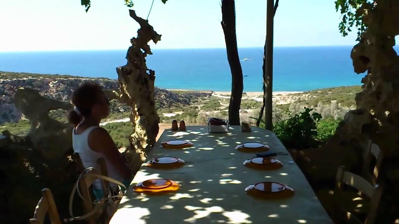 The Last Castle Taverna Near Lara Bay Cyprus YouTube