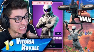 I BOUGHT THE NEW SKIN OF THE SUPREME NINJA AND I KILLED GENERAL! Fortnite: Battle Royale