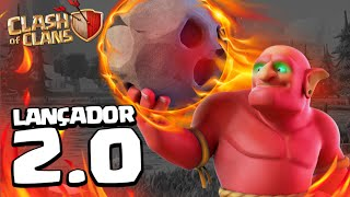 NOVO LANÇADOR 2.0 NO CLASH OF CLANS