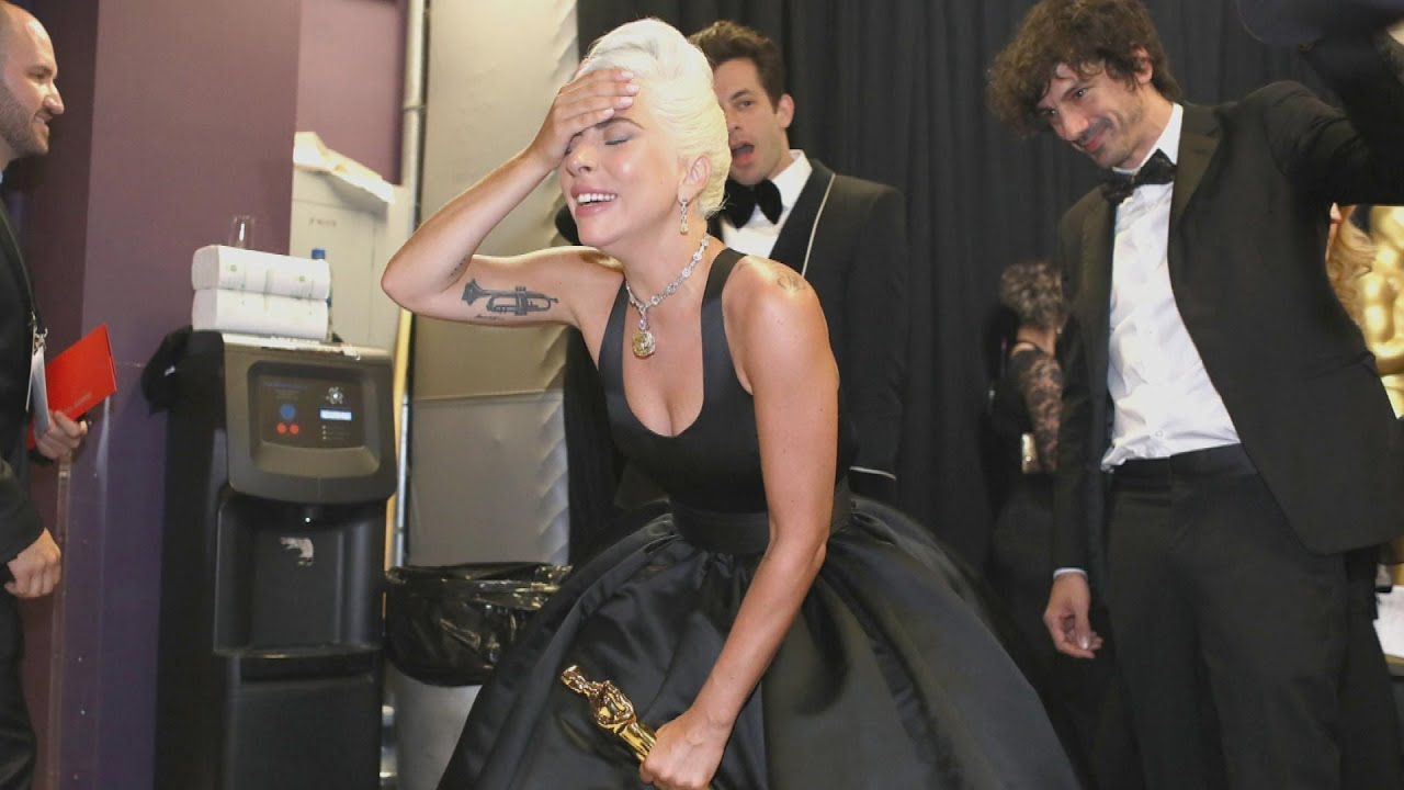 Inside Oscar Winner Lady Gaga's Big Night