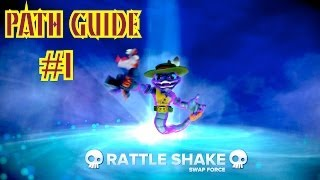 Skylanders Swap Force - Rattle Shake Path Guide #1