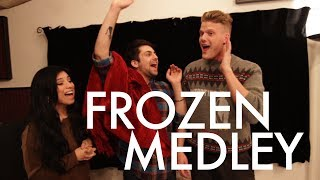 Repeat youtube video FROZEN MEDLEY (feat. Kirstie Maldonado)
