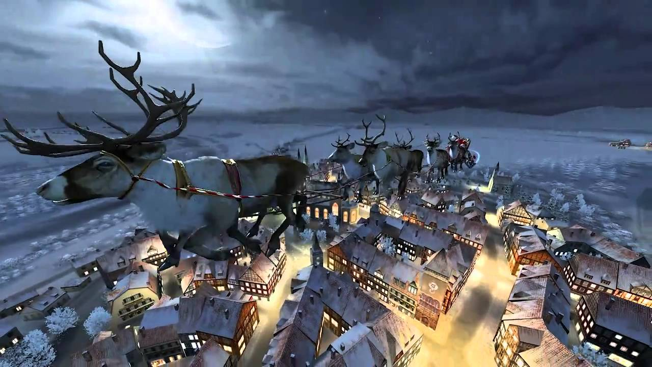 Santa Claus 3D Live Wallpaper and Screensaver - YouTube
