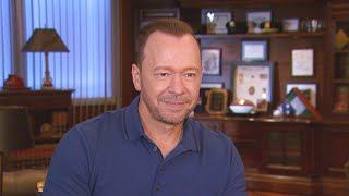 Donnie Wahlberg Reveals How He Convinced Bridget Moynahan to Join 'Blue Bloods' Video