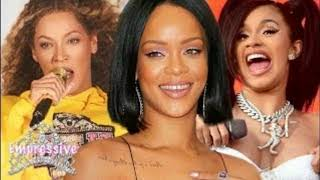 Rihanna and Beyonce showing supports Cardi B