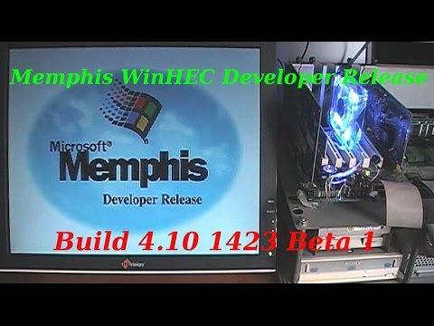 Microsoft Memphis WinHEC