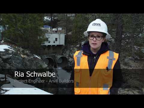 Ria Schwalbe - Anvil Builders Cherry Dam Project Engineer