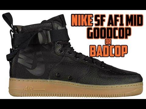 Nike SF-AF1 Mid  FIRST 👀 - GOODCOP BADCOP