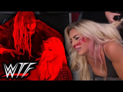 WWE SmackDown WTF Moments (31 July)   The Fiend Attacks Alexa Bliss, Sonya Cuts Mandy's Hair