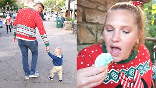 Trying 3 Holiday Treats At Disney's Animal Kingdom! | Characters On Floats & Christmas Decorations!