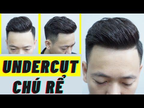 Hướng dẫn Cắt + Vuốt sáp tạo kiểu :KIỂU TÓC UNDERCUT CHÚ RỂ  -M.Hùng BarberSharing