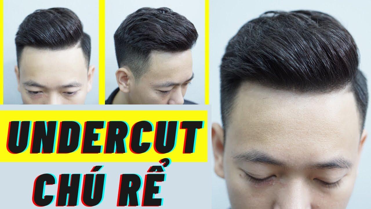 Hướng dẫn Cắt + Vuốt sáp tạo kiểu :KIỂU TÓC UNDERCUT CHÚ RỂ  -M.Hùng BarberSharing | Tổng quát các tài liệu liên quan kiểu tóc nam vuốt ngược mới cập nhật