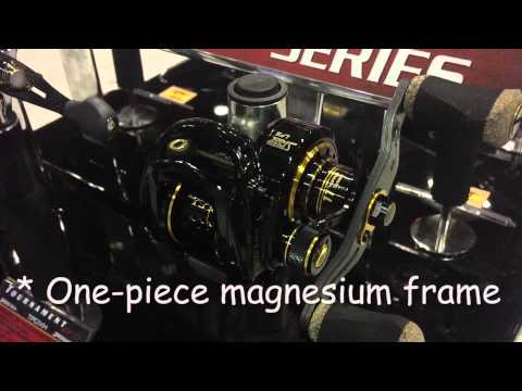 NEW FROM ICAST 2015: TEAM PRO MAGNESIUM TLM1H Freshwater Reel