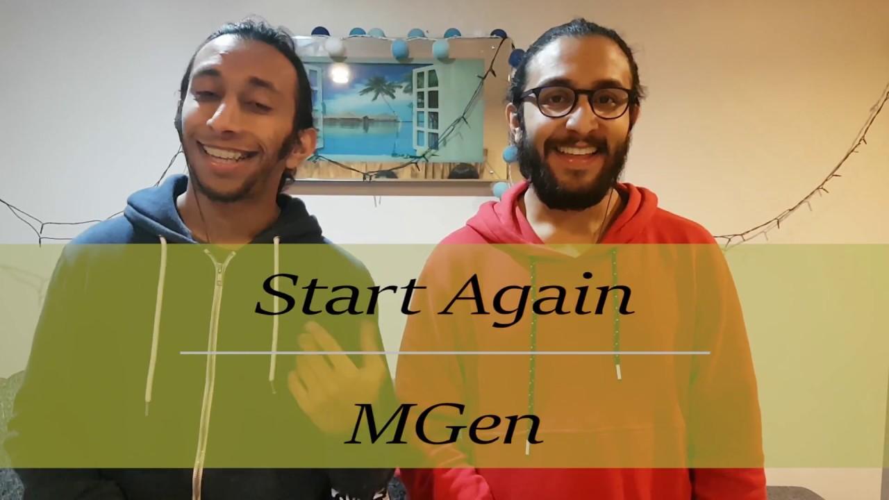OneRepublic Ft  Logic - Start Again | MGen Cover