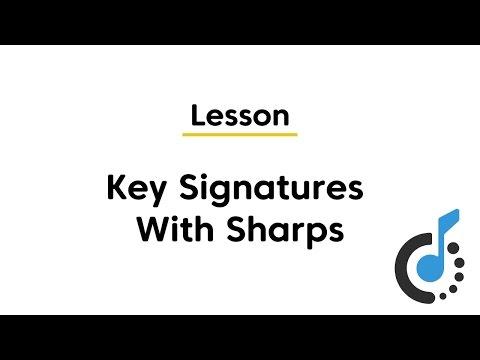 Major Key Signatures with Sharps