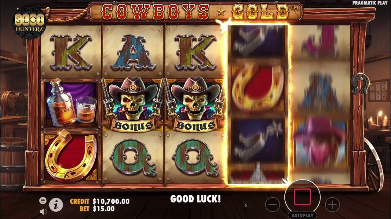 Cowboys Gold Slot Review Bonus Feature Pragmatic Youtube