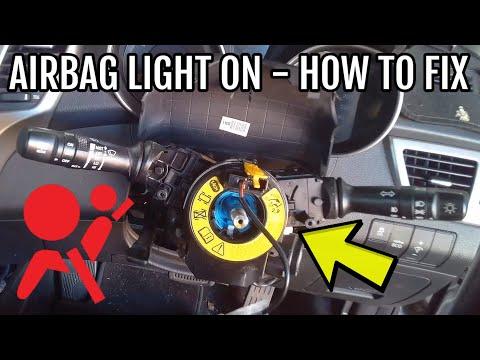 Airbag Light On  –  Hyundai / Kia – Step By Step DIY Fix