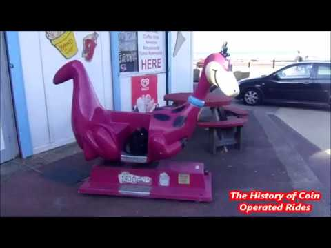 2000s Coin Operated Car Kiddie Ride