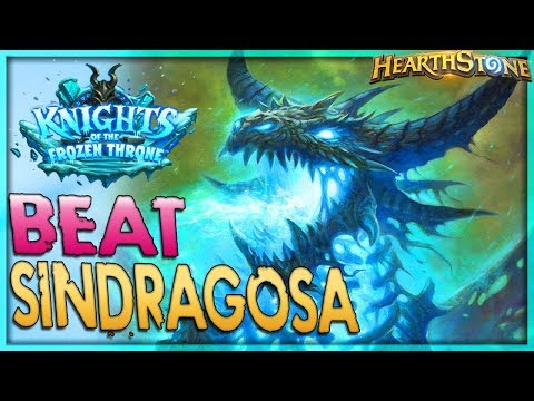 How to beat Sindragosa - Solo Adventure 🌟 HEARTHSTONE  | Frozen Throne Legend