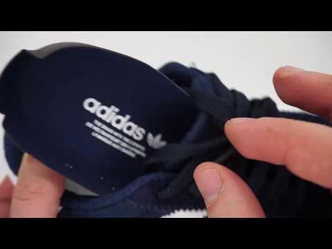 25713ed1 Кроссовки для бега Adidas Iniki Runner синие с белым - YouTube