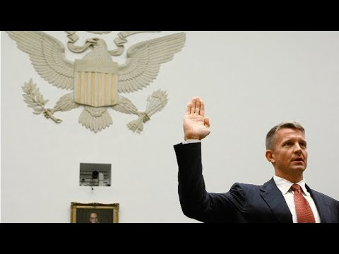 As Aides Spar, Will Trump Hire Erik Prince for Afghanistan?