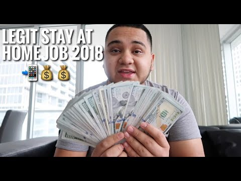 Work From Home 2018 (100% Real Online Job) Get paid by next week!