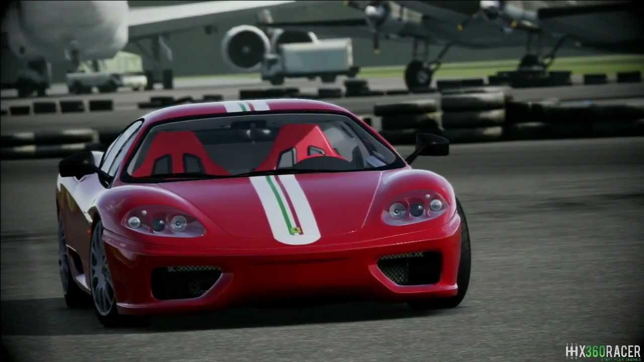 Top Gear Power Lap Ferrari 360 Modena Challenge Stradale