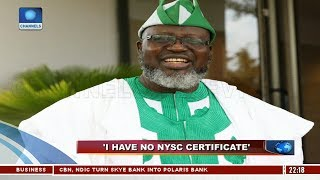 Shittu Defends Non-Participation In NYSC Pt.3 21/09/18 |News@10|
