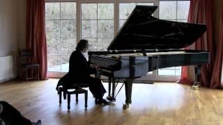 W. A. Mozart: Fantasie d-moll; KV 397; Gregor Sauer, Piano
