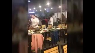 Nhân viên quán nhậu Chú Tèo quận 6 đánh người vì không uống nước trong quán