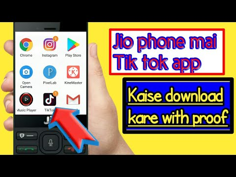tik tok apps download jio phone mein