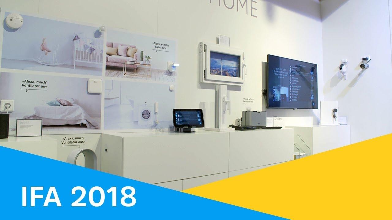Video: IFA 2018 | TechniSat stellt innovatives Smart Home System vor.