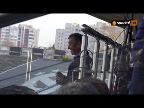 Алберг и Пламен Марков с ЦСКА-София на Лаута