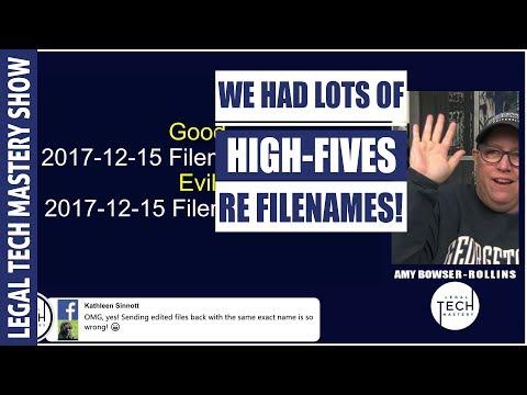 File Naming Strategies S01E10