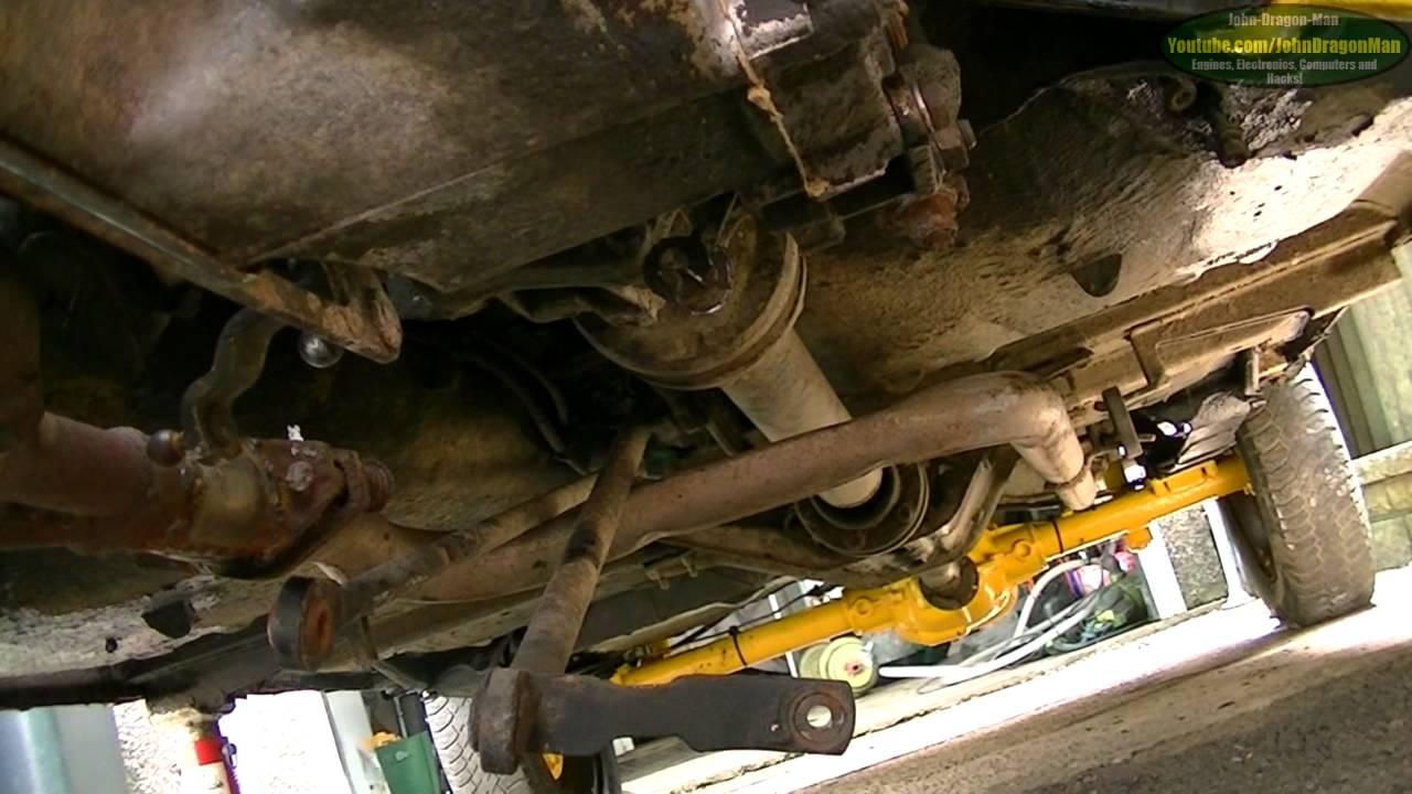 Fiat Panda 4x4 Sisley Video Log No 15 Gearbox Removal
