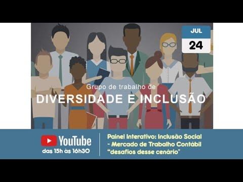 """painel-interativo:-inclusão-social---mercado-de-trabalho-contábil-""""desafios-desse-cenário"""""""
