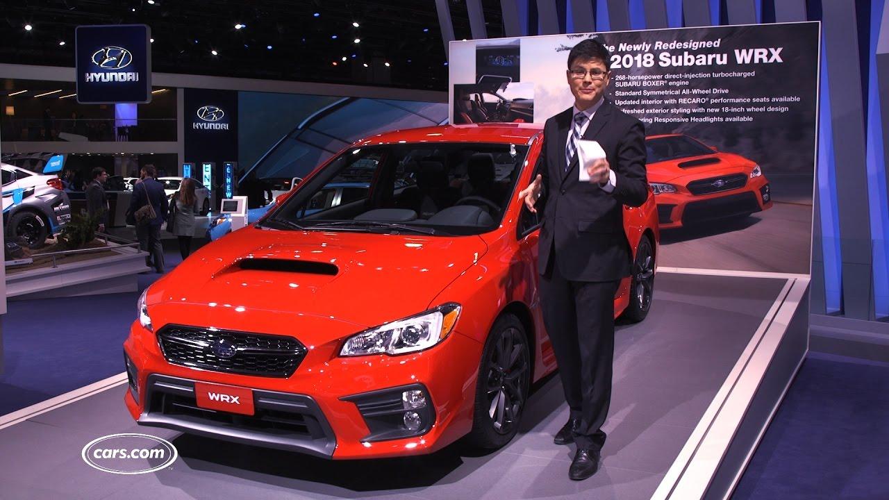 2018 Subaru WRX and WRX STI Review: First Impressions - YouTube