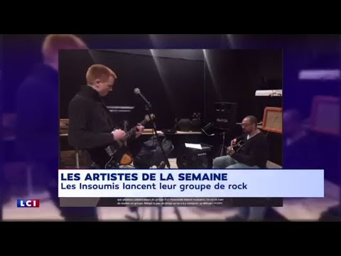 Le groupe de rock Insoumis à l'Assemblée Nationale 05/03