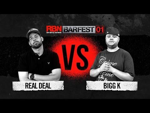 Bigg K vs Real Deal Barfest FREE HD