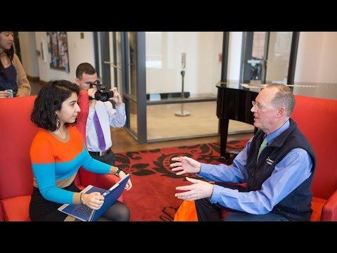 Global Humanitarian Paul Farmer Visits the Honors College