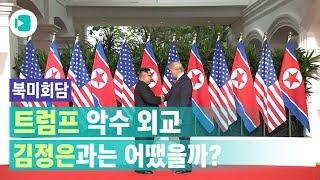 '북미정상회담' 트럼프 악수 외교, 김정은과는 어땠을까?/비디오머그