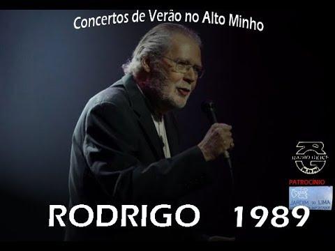 Rodrigo -  Concertos De Verão No Alto Minho -1989-Castelo De Santiago Da Barra-Som Geice FM