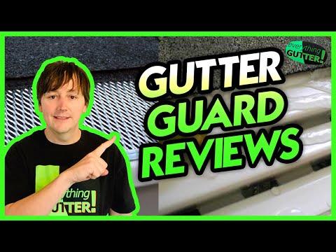 Waterfall Gutter Guard Review Youtube