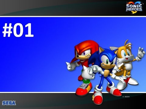 Sonic Heroes - Прохождение #01 (Команда Соника) (PC)