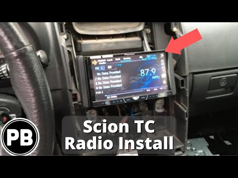 2005 2010 scion tc stereo install pioneer avh p4400bh. Black Bedroom Furniture Sets. Home Design Ideas