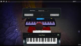 Will he - In Tongues by: Joji on a ROBLOX piano.