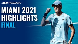 Jannik Sinner vs Hubert Hurkacz | Miami 2021 Final Highlights