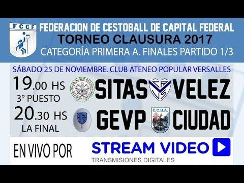 3er Puesto SITAS vs VÉLEZ - CESTOBALL