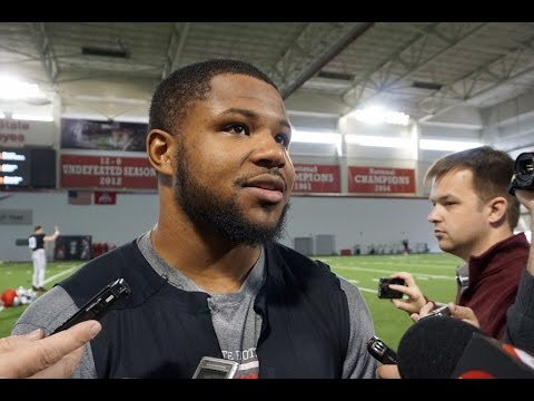 Ohio State Running Back Mike Weber 3-30-17