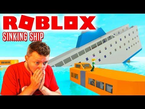 KAPTAJN COMKEANS MEGA SIKRE SKIB! - Roblox Sinking Ship Dansk